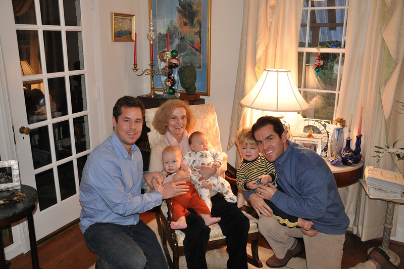 Grandma & children & grandbabies