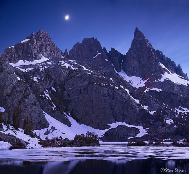 The Escence of Night - Ansel Adams Wilderness