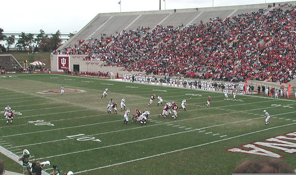 MSU at IU football 2002
