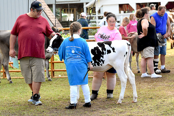 Junior Dairy Showmanship 8-9-2018
