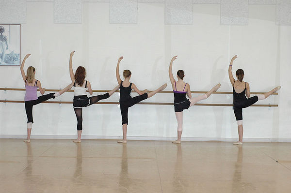 Dancers in Training
