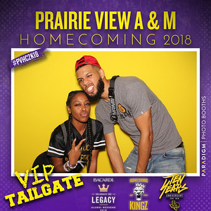 October 27, 2018 - PV Homecoming VIP Tailgate Sponsored by Bacardi