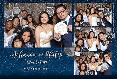 Philip & Johanna's Wedding (Mini LED Open Air Photo Booth)
