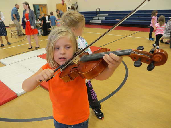 Vt. Symphony Orchestra and Albert Bridge School