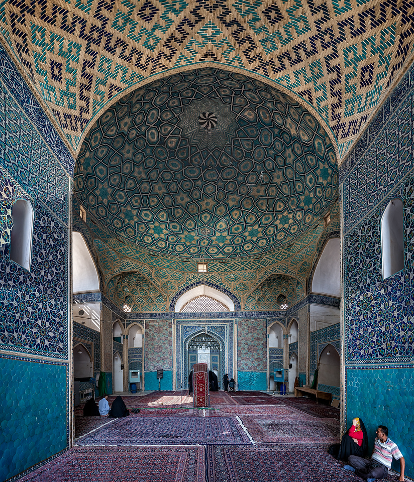 grand mosque of yazd