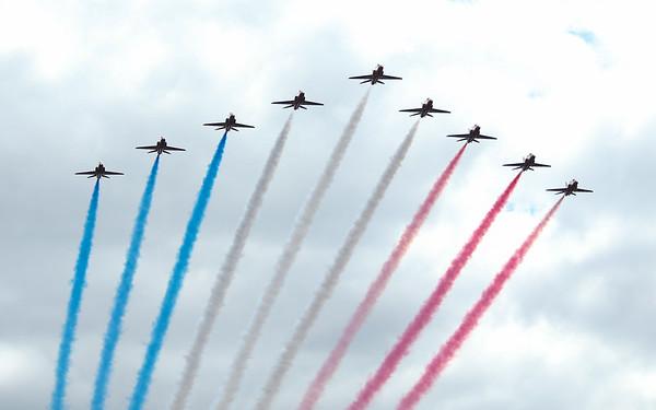 Red Arrows - New York International Air Show 2019