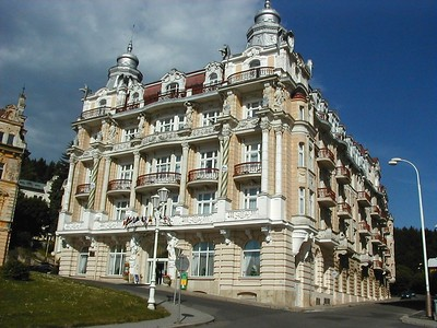 Karlo and Maria VIVARY Karlsbad one of the 4 pearls of Czech Republic