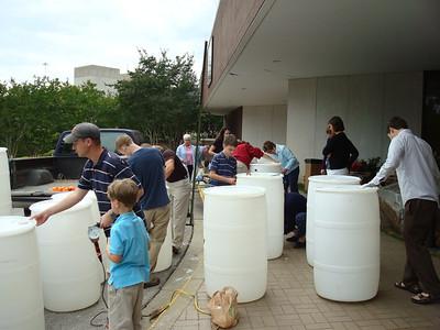 Rain Barrel Workshop-May 15, 2011