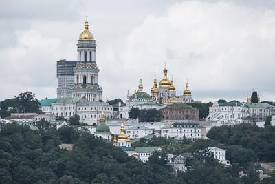 The Ukraine, Odesa to Kiev on the Dnieper River