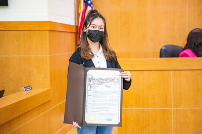 EISD student, Jennica Avila, advocates for Theatre in Our Schools month