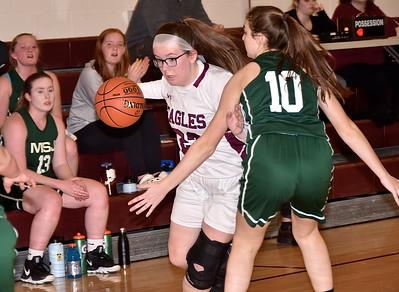 AMHS Varsity Girls Basketball vs MSJ photos by Gary Baker