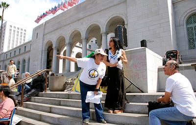 INTERNATIONAL WOMEN'S DAY ~ LA CITY HALL ~ MARCH 10 2012