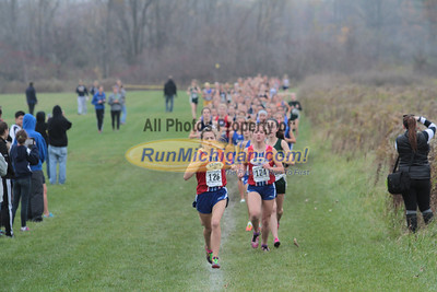 Girls - 2014 MHSAA XC LP Regional 16-2