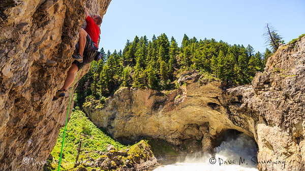 Climbing Natural Bridge, MT