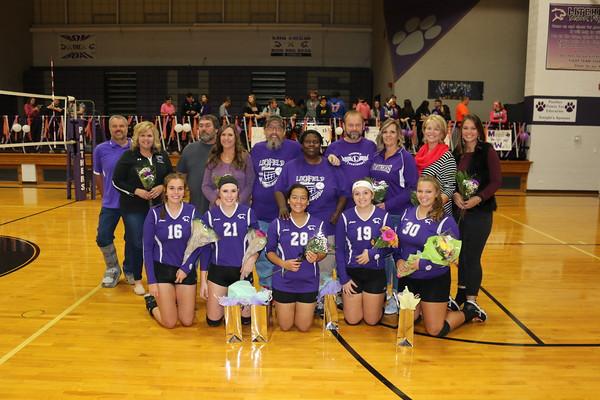 October 17, 2018 - Litchfield vs. Hillsboro Volleyball