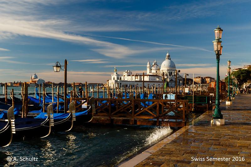Venice:  Santa Maria della Salute from Piazza San Marco