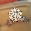 1.59ct Round Brilliant Diamond Ring GIA J SI1 7