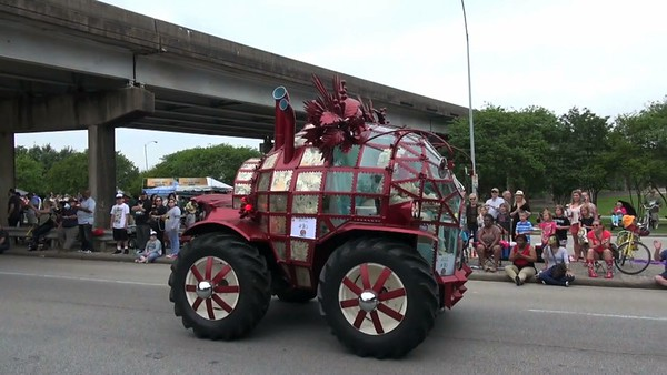 Houston Art Car Parade - 2015