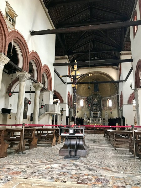 Interior of Santa Maria e San Donato Church