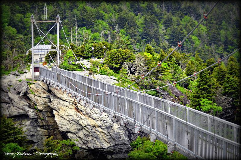 Swinging Bridge Grandfather Mountain  NC