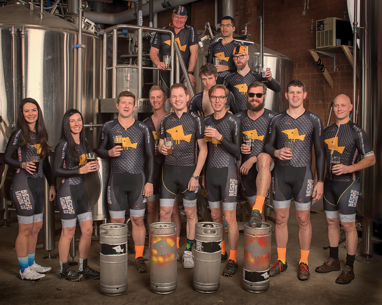 Birdsong Team Portrait at the brewery