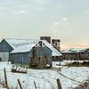 Winter Sunrise At The Farm