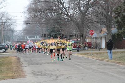 5K at 0.25 mile mark - 2015 Bill Roney Run
