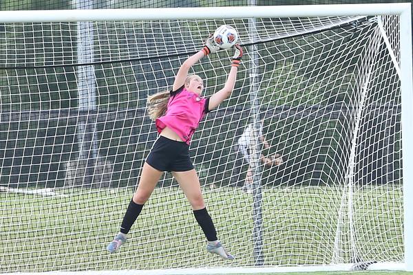 USJ Girls JV soccer v Briarcrest 8-20-20