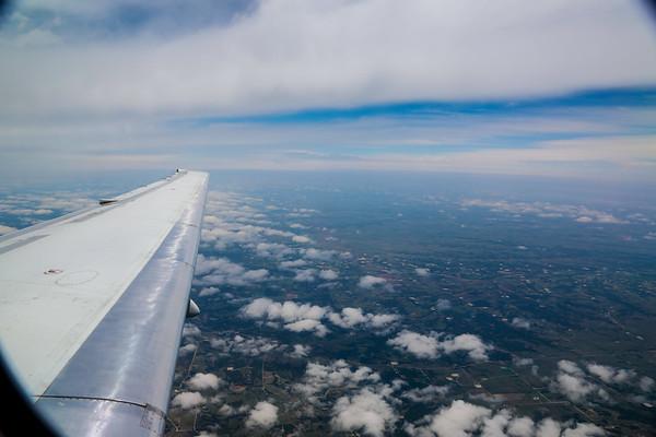 Air Travels LAX-STL-LAX