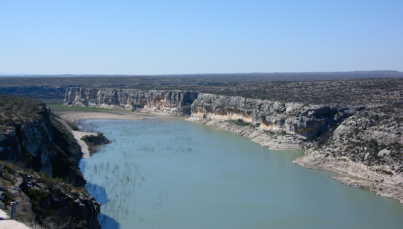 Pecos River.  Desolate country