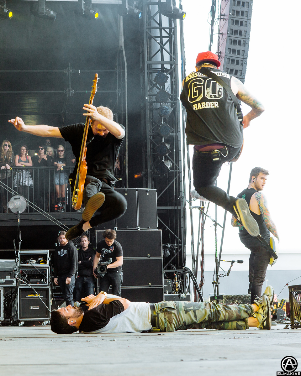 A Day To Remember at Reading Festival