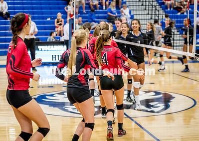 Volleyball - Varsity: Heritage vs Tuscarora 9.8.2015 (by Bill Corso)