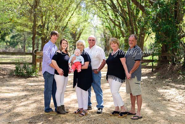 Ellis' family  {Four Generations!}  |  Putney, Georgia