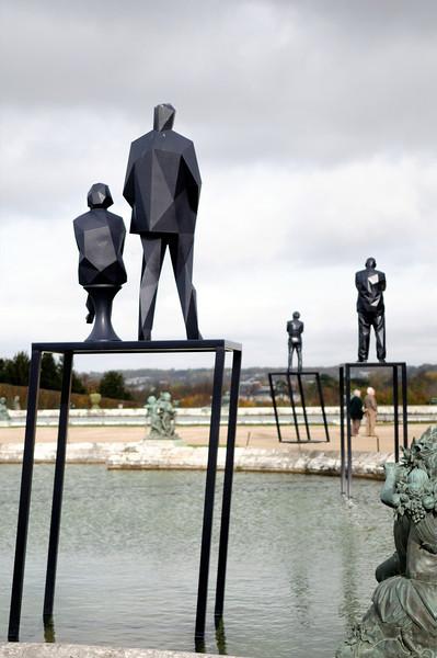 Versailles, current art installation.