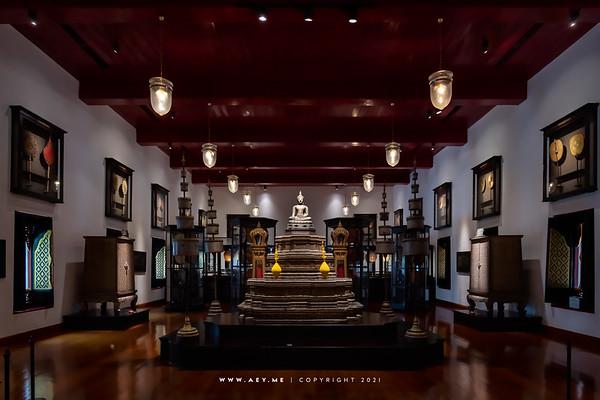 Phra Wiman - Phrommethada Hall (upper floor)