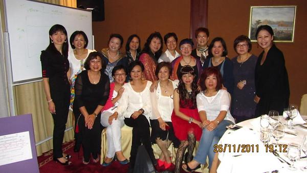 2011 Reunion Dinner