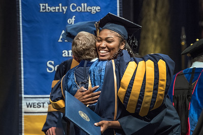 32055 Eberly College Commencement for Undergraduate Students May 2016