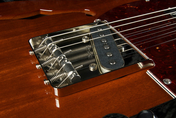 "Retro Classic Hollow ""T"" - #3181 Dark Mahogany."
