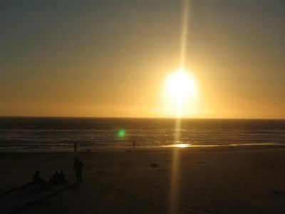 Sunset at San Fransico Beach