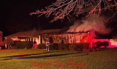 Middle Island House Fire  Turnpike Blvd [12.25.17]
