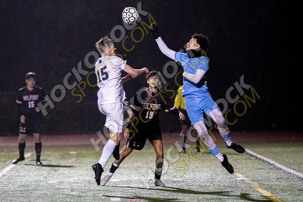 Milford-Franklin Boys Soccer - 10-25-21