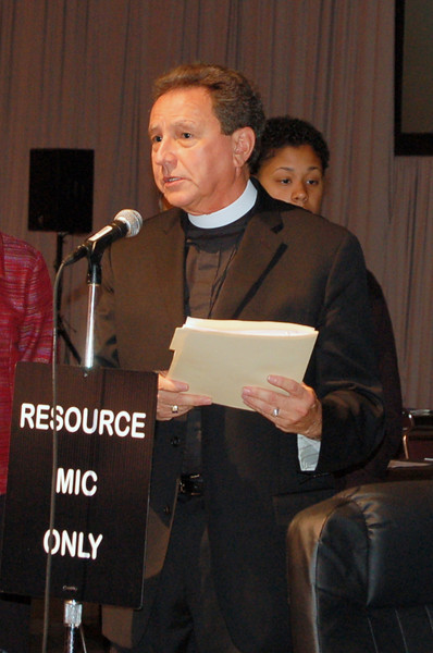The Rev. Donald McCoid, executive for ecumenical and inter-religious relations.