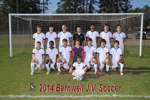 Barnwell Boys JV Soccer