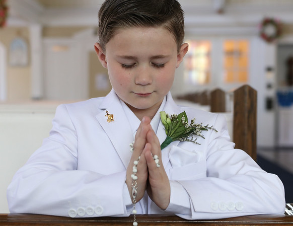 Teddy's First Holy Communion