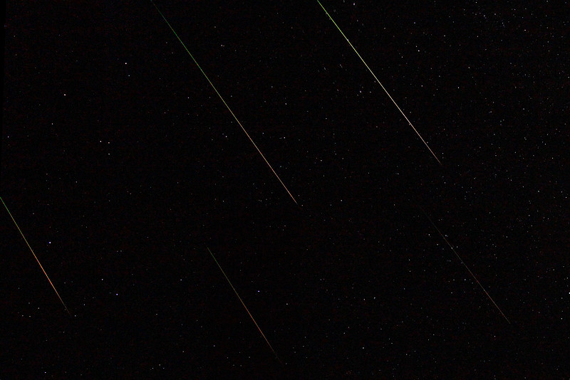 Perseid meteor shower 2012