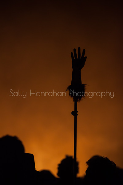 The Hand from Heaven ~Burning Man 2015