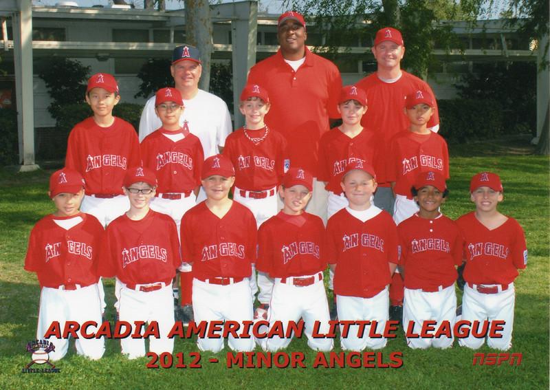 2012 AALL Minors Angels
