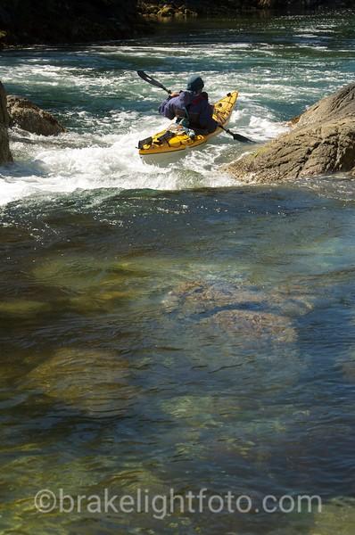 Negotiating a Tidal Rapid