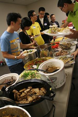 2010 Thanksgiving Celebration Practice & Post-TC Dinner