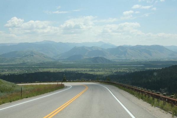Teton Pass, Idaho - Wyoming